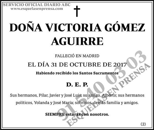 Victoria Gómez Aguirre